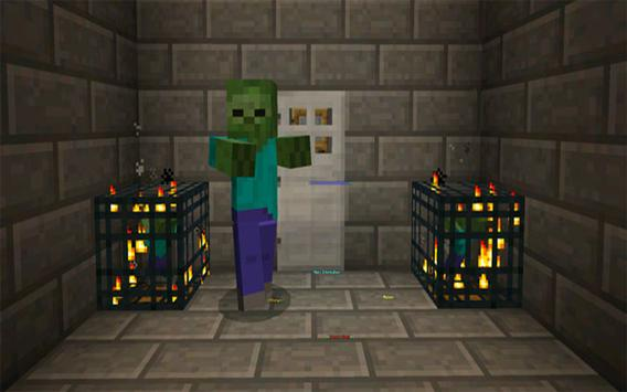 Prison escape map for MCPE apk screenshot
