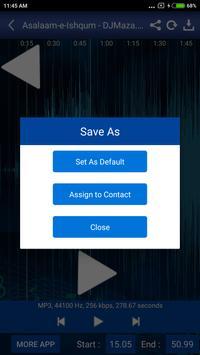 Ringtone Cutter MP3 Maker FREE apk screenshot