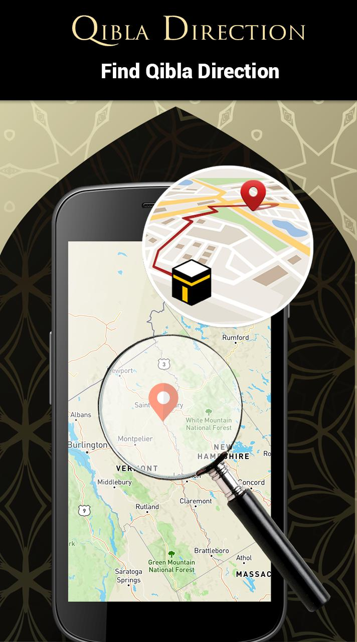 Qibla Direction Finder Offline Kaaba Direction App for ... on prevailing wind direction, change direction, one direction, earth's rotation direction, azimuth direction,