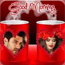 कॉफी कप दोहरी फोटो फ्रेम APK