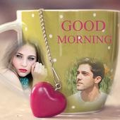 Good Morning Dual Photo Frames icon
