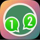 2 whatsapp account guide icon