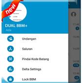 DUAL BBM+ (MOD) 2017 icon