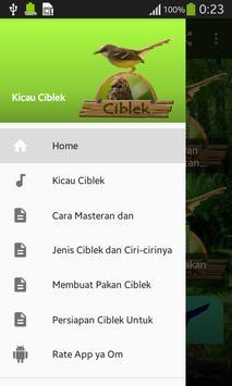 Kicau Ciblek poster