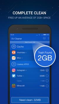 Poster DU Cleaner – Clear cache & booster per android