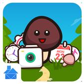 Simeji Style:DU Launcher theme icon