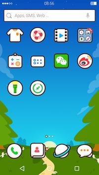 Simeji Style:DU Launcher theme apk screenshot