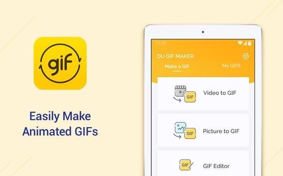 5 Schermata DU GIF Maker