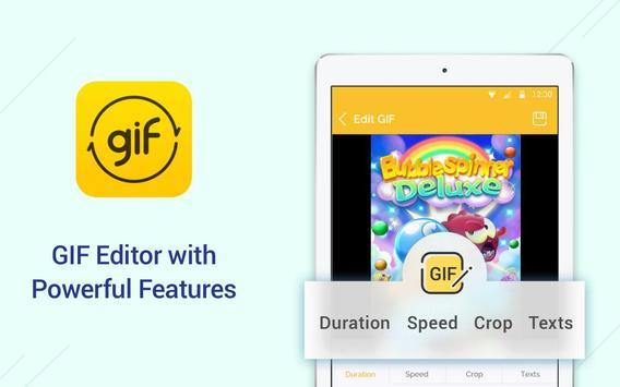 DU GIF Maker: GIF Maker & Editor, Vídeo para GIF apk imagem de tela