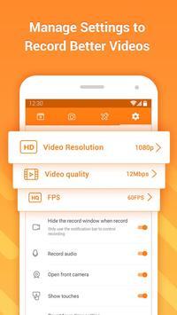 DU Recorder - Gravador de Tela & Editor de Vídeo apk imagem de tela