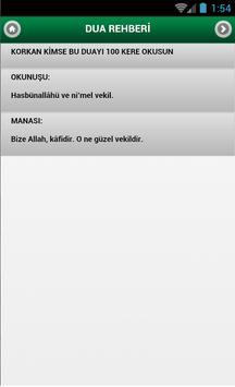 Dua Rehberi apk screenshot