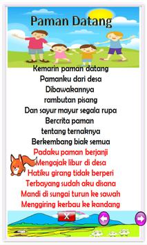 Indonesian children song screenshot 15