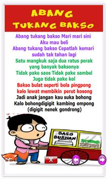 Indonesian children song screenshot 1