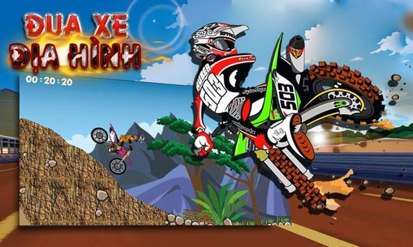 Crazy Racing Moto 3D poster