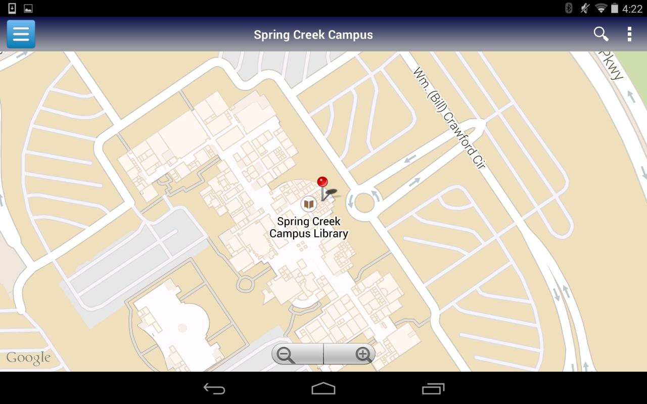 collin spring creek campus map Collin College For Android Apk Download collin spring creek campus map