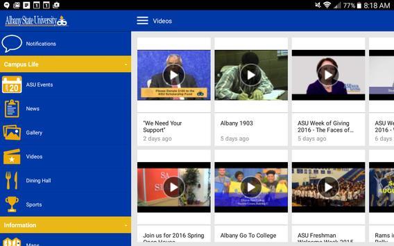 Albany State U apk screenshot