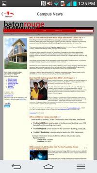 Baton Rouge Community College apk screenshot