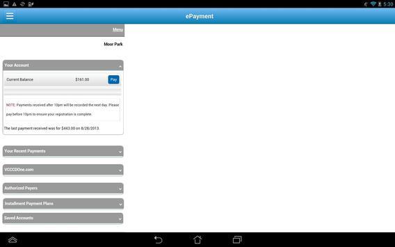 MyVCCCD apk screenshot