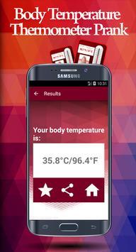 Temperature Thermometer Prank apk screenshot