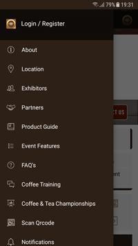 DUBAI INTERNATIONAL COFFEE & TEA FESTIVAL apk screenshot