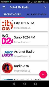 Dubai FM Radio apk screenshot