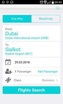 Dubai Flights poster