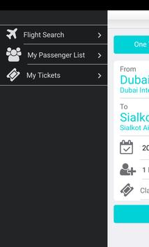 Dubai Flights screenshot 1