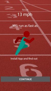You run as fast as apk screenshot