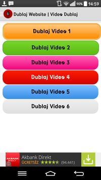 Dublaj Videoları Komik apk screenshot