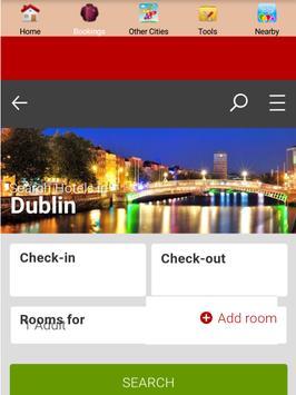 Dublin Hotels screenshot 1