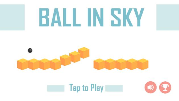 Ball in Sky poster