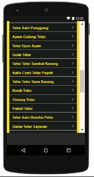 Aneka Resep Olahan Telur screenshot 4