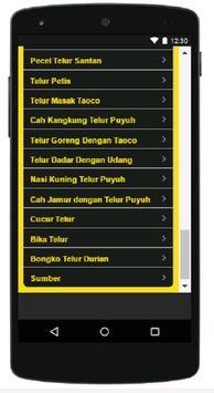 Aneka Resep Olahan Telur screenshot 6
