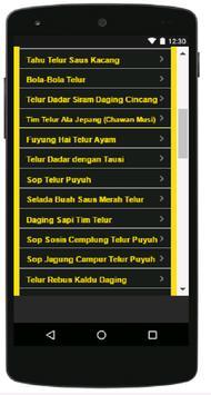 Aneka Resep Olahan Telur screenshot 3
