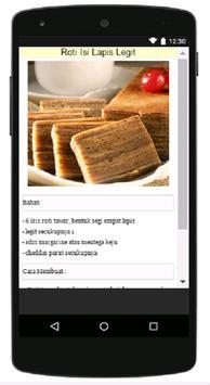 Resep Makanan Ringan screenshot 4