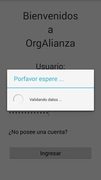 OrgAlianza apk screenshot