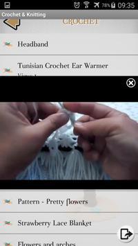 Crochet - Knitting - Embroidery - Macrame screenshot 2