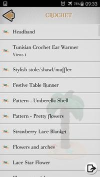 Crochet - Knitting - Embroidery - Macrame screenshot 3