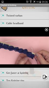Crochet - Knitting - Embroidery - Macrame screenshot 4