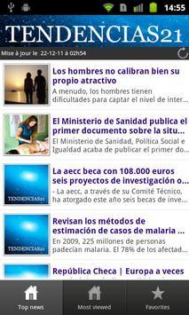 Tendencias21 poster