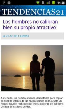 Tendencias21 screenshot 1