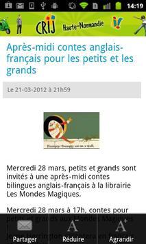 CRIJ de Haute-Normandie apk screenshot