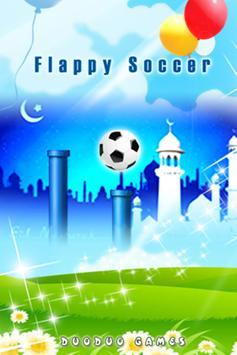 A Running Soccer poster