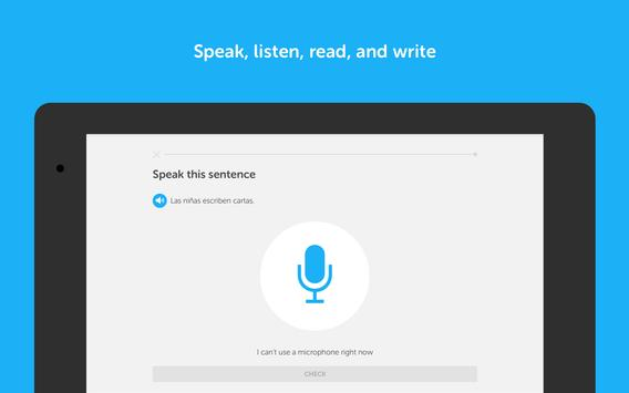 دوولينجو، تعلَّم الإنجليزية! apk تصوير الشاشة