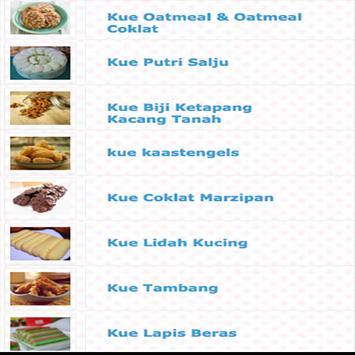 200 Resep Kue Enak Dan Simple apk screenshot