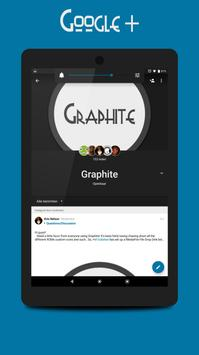 Graphite [Substratum theme] apk screenshot