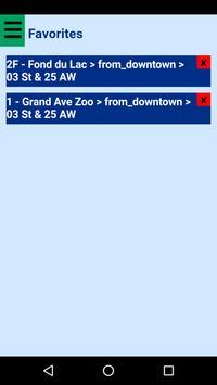 Duluth DTA Bus Tracker screenshot 2