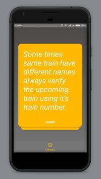 Dummies Guide to Indian Train screenshot 1
