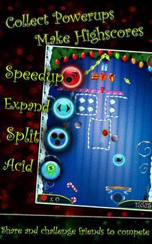 PaddleShock Breaker: Christmas screenshot 8