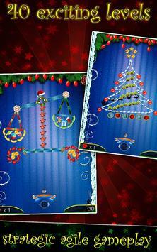 PaddleShock Breaker: Christmas screenshot 1
